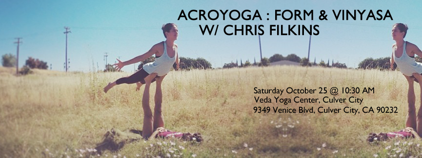 AcroYoga : Form & Vinyasa October 25, 2014