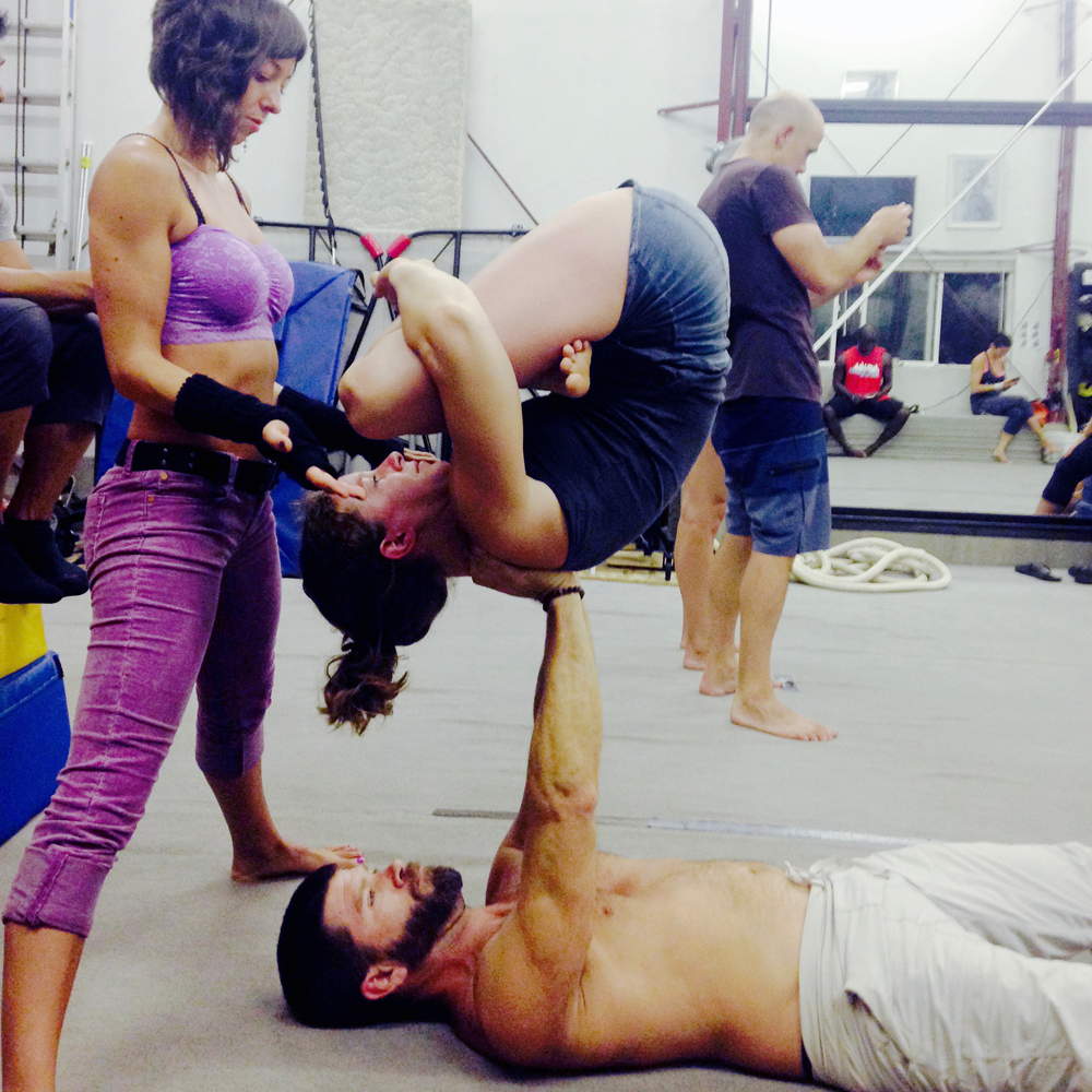 Inverted Pindasana - AcroYoga w/ Chris Filkins