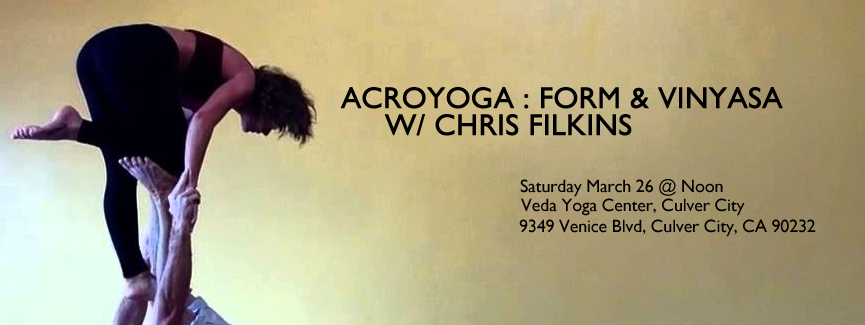 Veda Yoga Center AcroYoga March 26, 2016