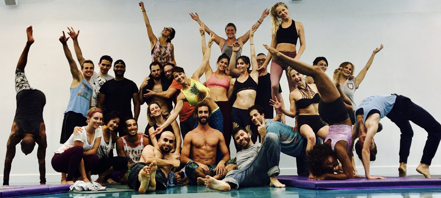 Class at Create Yoga