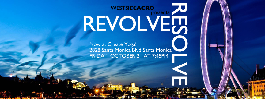 AcroYoga in LA - Resolve & Revolve