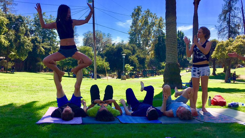 AcroYoga in Los Angeles - Eastside Acro