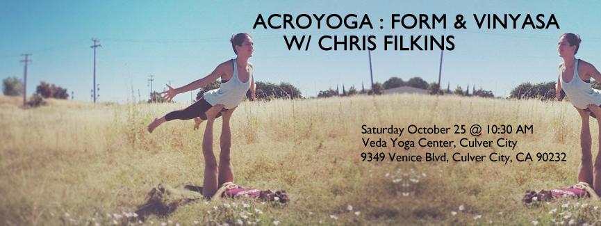AcroYoga : Form & Vinyasa October 25, 2014