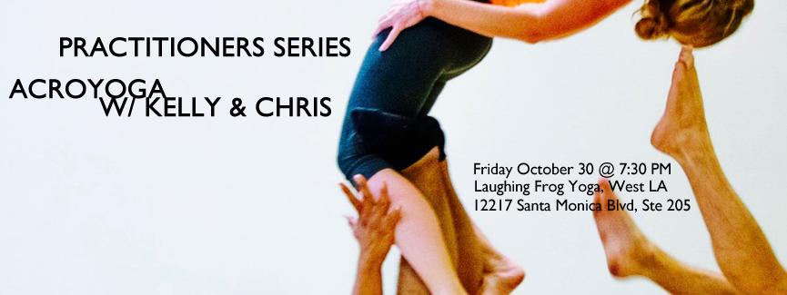 AcroYoga w/ Kelly Thayer & Chris Filkins
