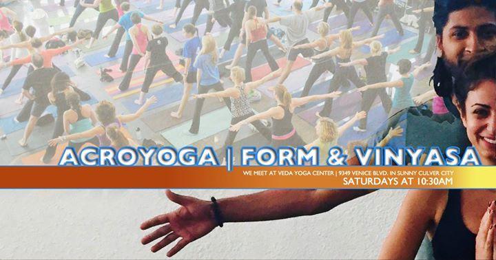 Veda Yoga Center | AcroYoga Form & Vinyasa